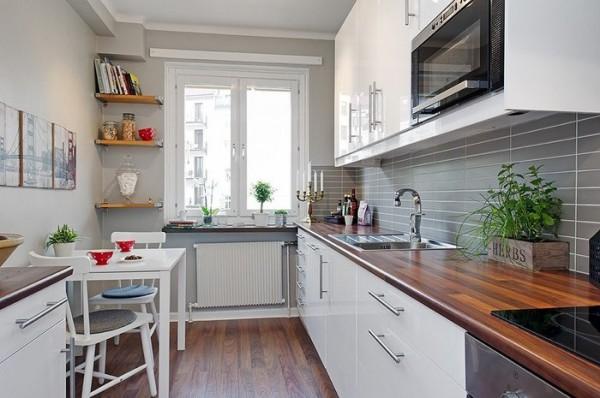 узкие кухни на заказ