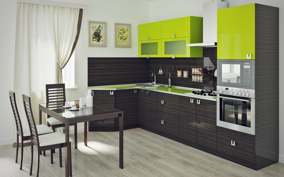 Кухня лдсп с ламенированным покрытием
