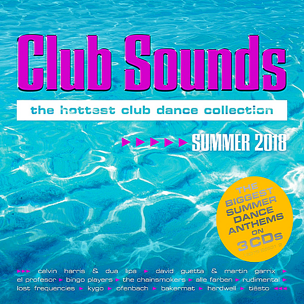 VA - Club Sounds Summer [3CD] (2018)