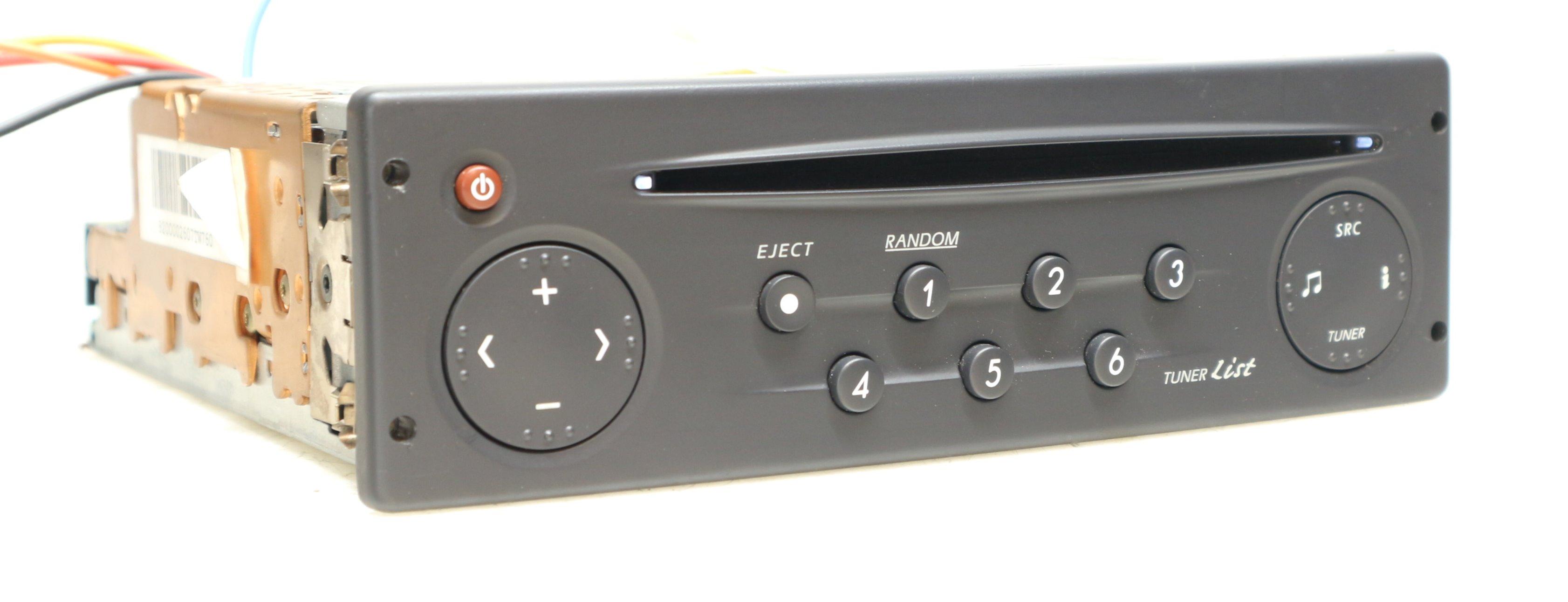 renault cd autoradio f r modus scenic megane clio laguna. Black Bedroom Furniture Sets. Home Design Ideas