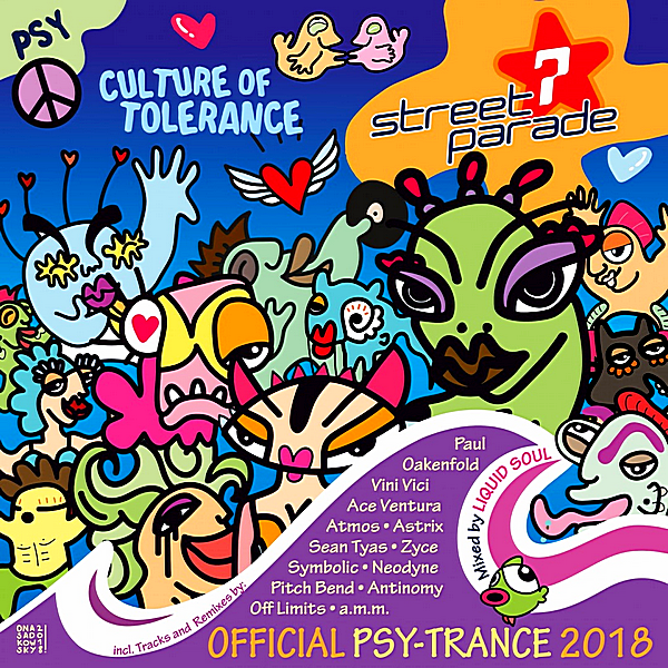 VA - Street Parade 2018 Official Psy-Trance [Mixed by Liquid Soul] (2018)
