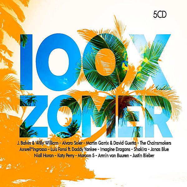 VA - 100X Zomer [5CD] (2018)