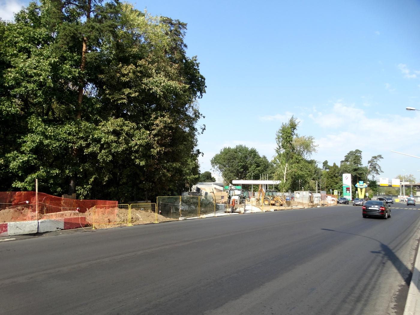 Фото после реконструкции рижского шоссе