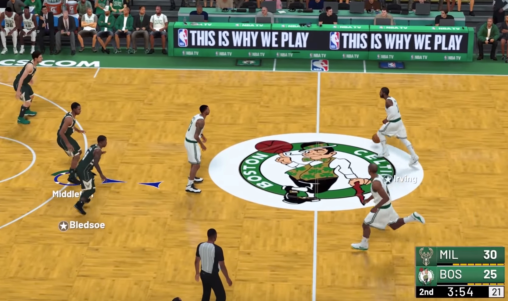 NLSC Forum • NBA 2k19 Xbox One X Extended Gameplay