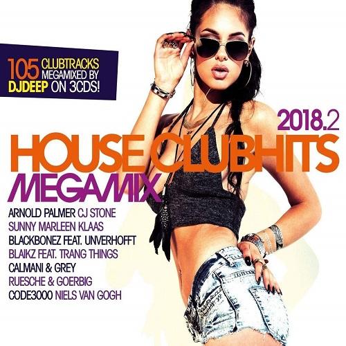 VA - House Clubhits Megamix 2018.2 [3CD] (2018)