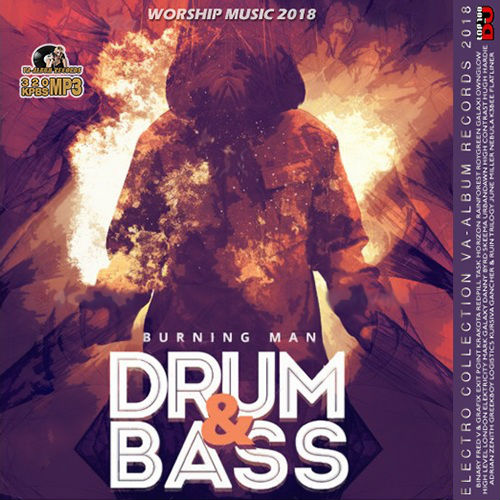 VA - Burning Man: Drum And Bass Compilation (2018)