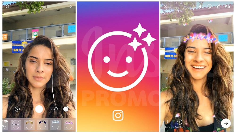 Canlı yayın instagram filtreleri