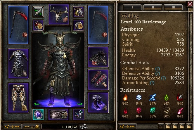 1 0 6 1] 2H Cadence Battle Mage - the Blade of Aether - Grim Dawn Forums