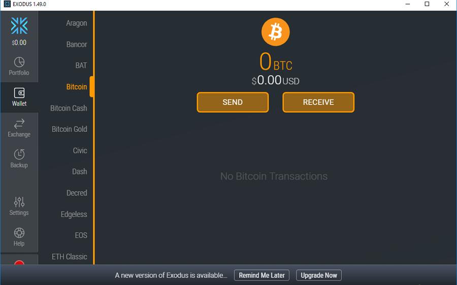 Локальный кошелек Bitcoin