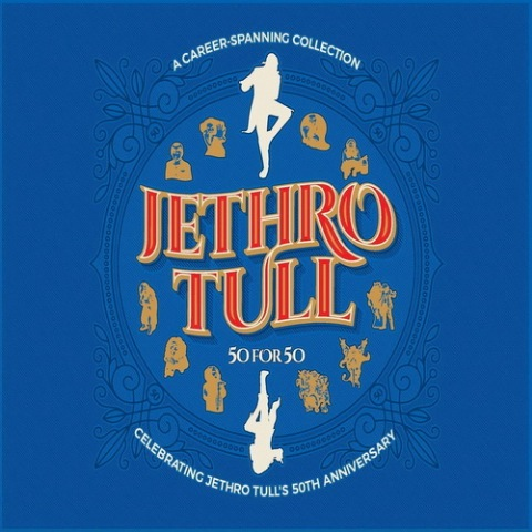 Jethro Tull - 50 For 50: Celebrating Jethro Tull's 50th Anniversary [3CD Set] (2018)