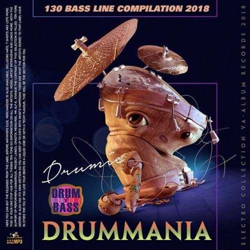VA - Drummania: 130 Bass Line Compilation (2018)