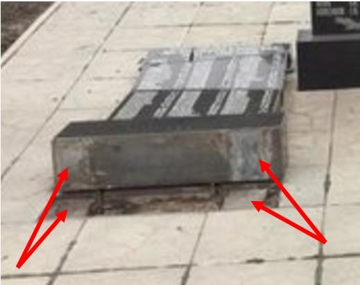 Невідомі під Харковом пошкодили меморіальний комплекс загиблим у роки Другої світової війни, - поліція - Цензор.НЕТ 2656