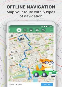 MAPS.ME — Офлайн карты v8.4.9 Mod [Android]