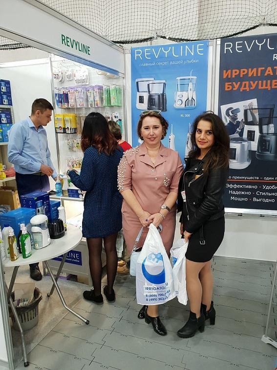 Компания Revyline приняла участие в стоматологической выставке, проходящей в Крыму