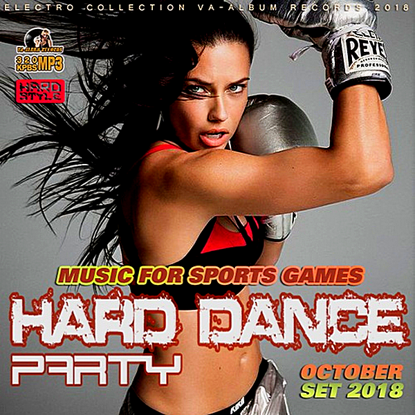 VA - Music For Sports Games: Hard Dance Party (2018)