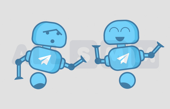 The use of bots in Telegram
