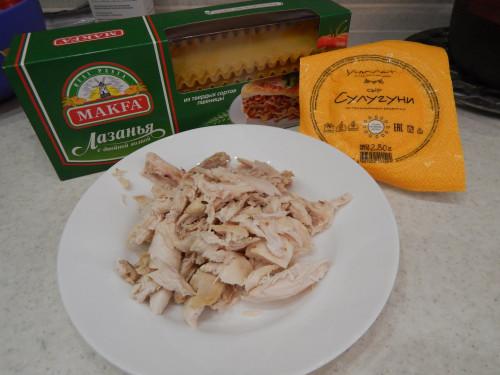 Лазанья с курицей и сыром Fd36fb2b5873442fdfd444588c706ccf