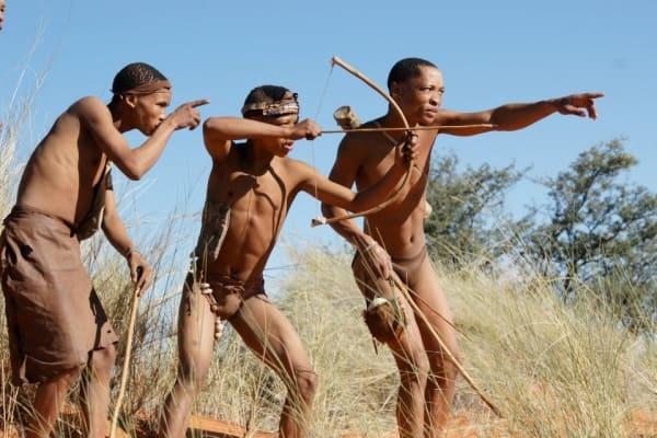 африканські бушмени, повна відсутність жиру