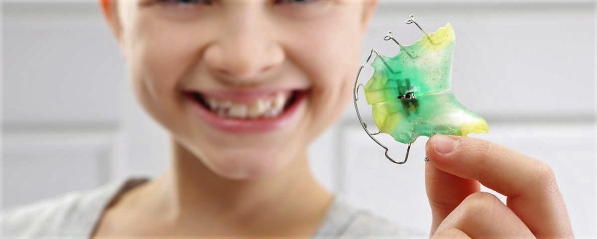 Дитячі зубні пластини Клініка Доброго Стоматолога