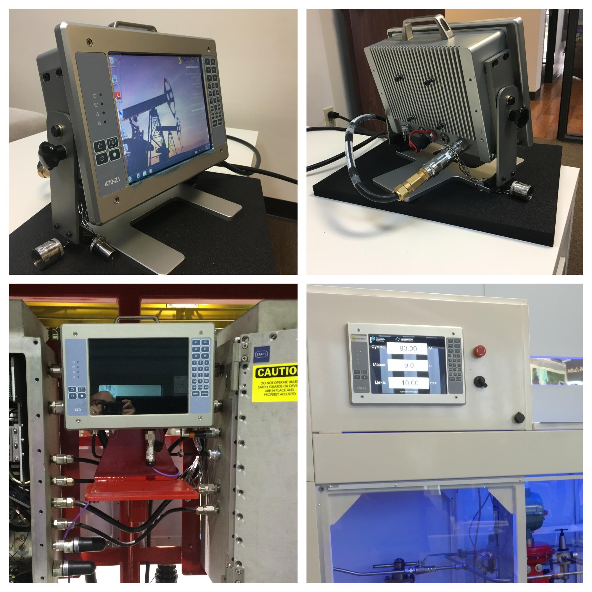 Взрывозащищенный компьютер HMi Elements 470-Z1 для применения в качестве стационарного или выносного устройства управления