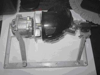 Рис. 8. Фото макетного образца безлопаточной турбины с доработанным ротором (обтекатель снят)