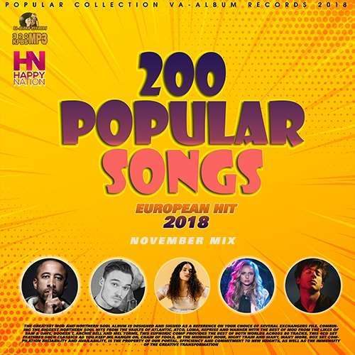 VA - 200 Popular November Songs (2018)