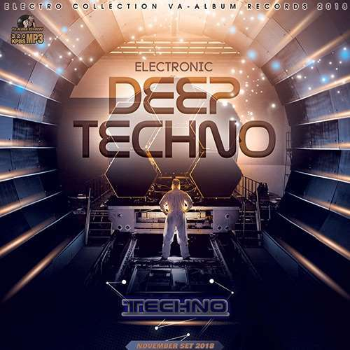 VA - Deep Techno Electronic (2018)