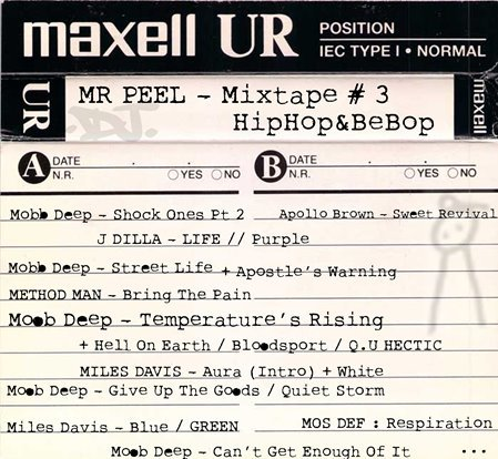 MR PEEL - Mixtape #3 Hip Hop & BeBop (2018/FLAC)