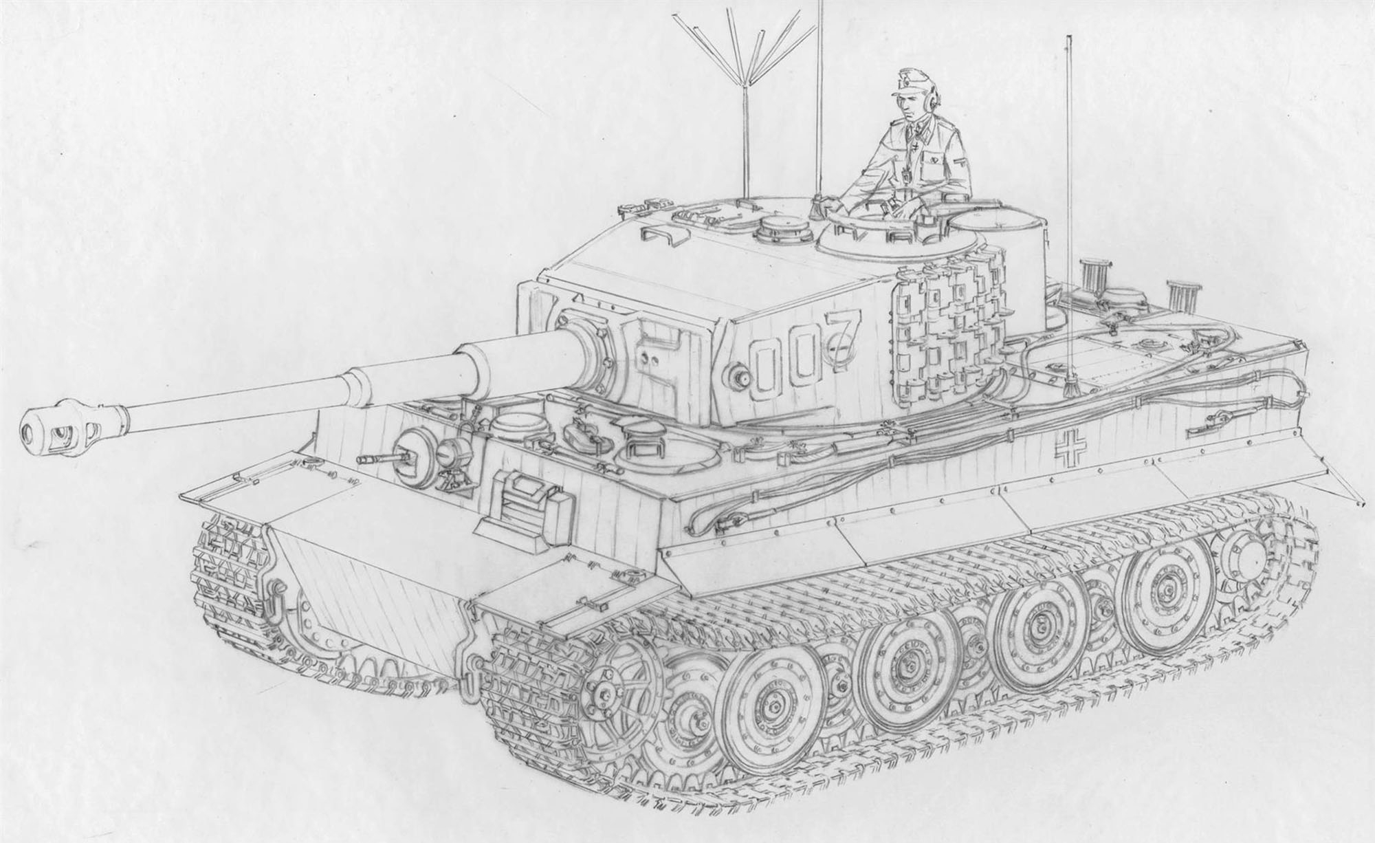 6800 Tiger I Late Production Wittmann`s Last Tiger .jpg