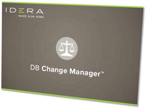 IDERA DB Change Manager 17.0.1 x86/x64