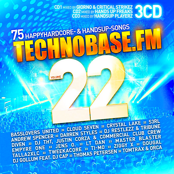 VA - TechnoBase.FM Vol.22 [3CD] (2018)
