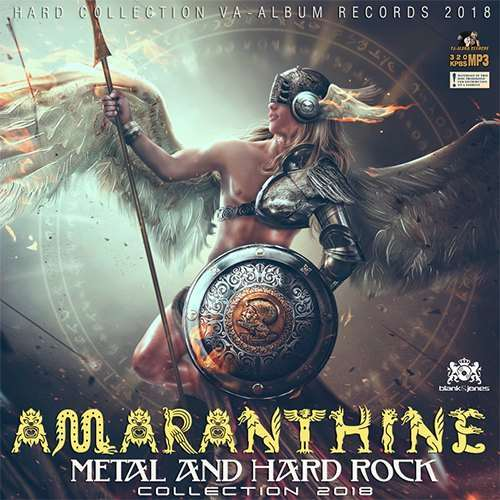 VA - Amaranthine: Hard Rock & Metal Collection (2018)