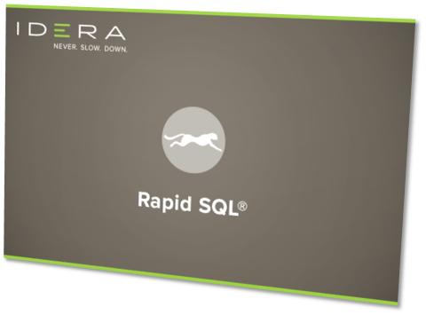 IDERA RapidSQL 17.0.2 x86/x64