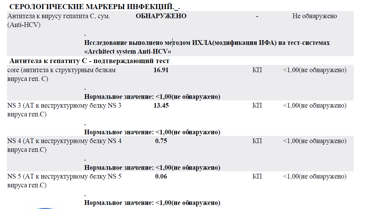 Hcv анализ крови и беременности анализы второе при узи