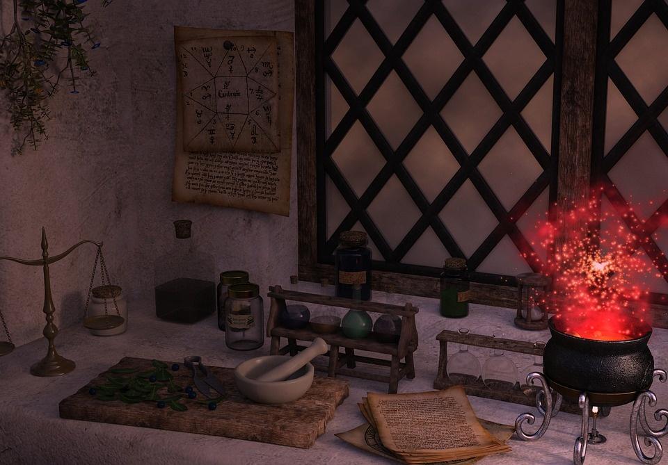 О занятиях магией в доме. 410924c6678e486a56a84e410cdba6a8