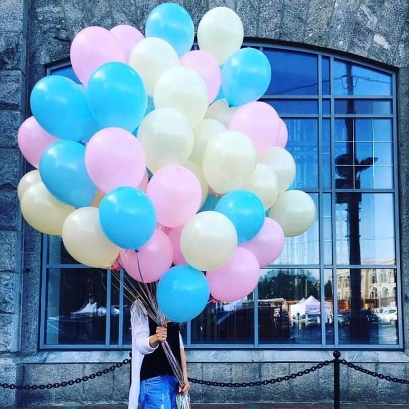 Облако воздушных шариков