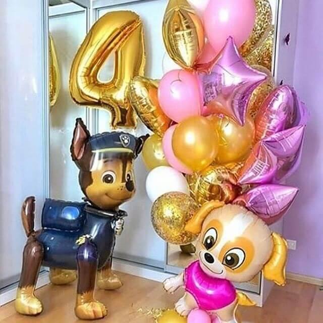 Воздушные шарики щенячий патруль