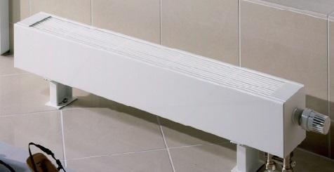 Отличный напольный конверктор белого цвета