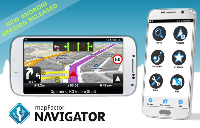 MapFactor GPS Navigation Maps - 5.5.34 Premium (Android)