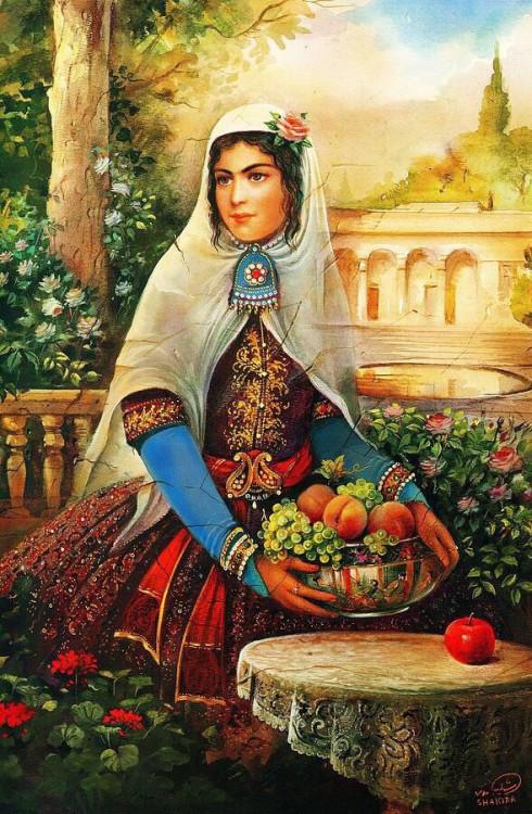 Гифы марта, иранские открытки