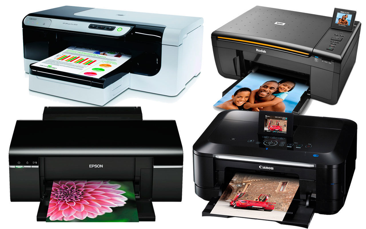 Разнообразие принтеров и МФУ