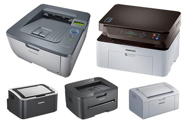 Множество МФУ и принтеров для офиса