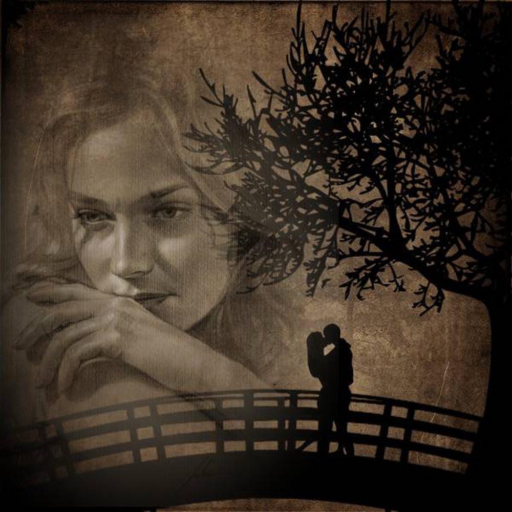 Открытки о расставании с любимым человеком, ретро открытки открытка