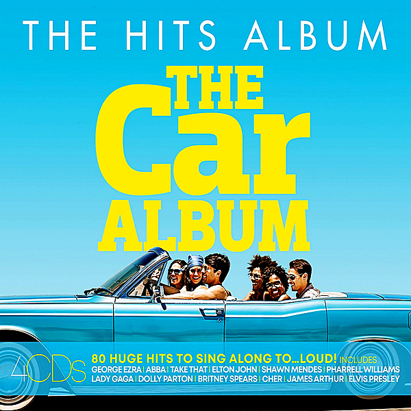 VA - The Hits Album: The Car Album [4CD] (2019)