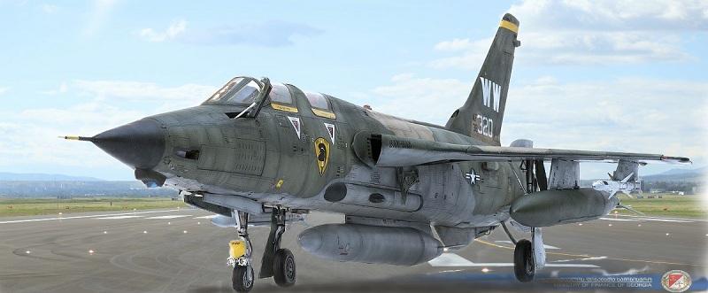 Republic F-105G Wild Weasel. Trumpeter 02202. - Страница 2 0cf145c58bbde2025c4e84d28fd1c274