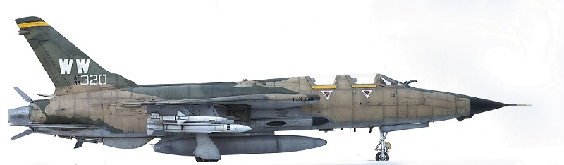 Republic F-105G Wild Weasel. Trumpeter 02202. - Страница 2 104bfad731423a901aa691f4053f9760