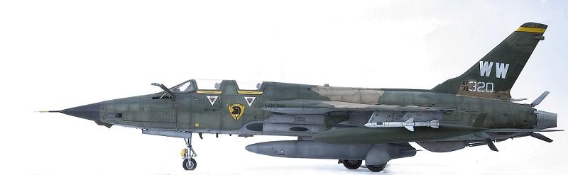 Republic F-105G Wild Weasel. Trumpeter 02202. - Страница 2 23f0303fdde128ff389f120cfbd3c609