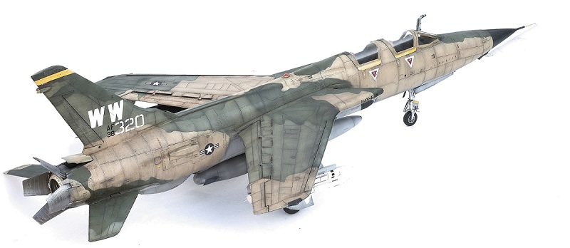 Republic F-105G Wild Weasel. Trumpeter 02202. - Страница 2 4549a63c671d3b15517a7871b2d8bc79