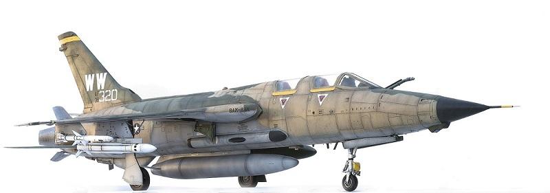 Republic F-105G Wild Weasel. Trumpeter 02202. - Страница 2 58f9b3e2bef891ef91e35b857fb623a5
