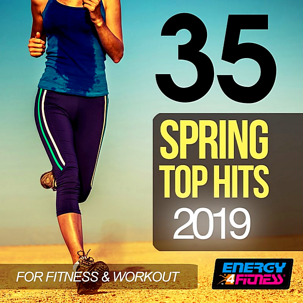 VA - 35 Spring Top Hits 2019 For Fitness & Workout (2019)